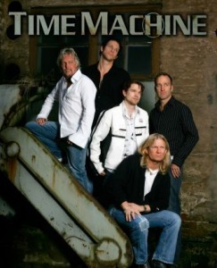 time machine coverband compr